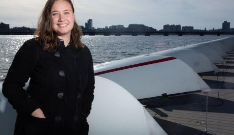 Throughout her undergraduate studies in Course 2-OE, MIT senior Michelle Kornberg has had opportunities to work on technologies in Boston Harbor and the Charles River.
