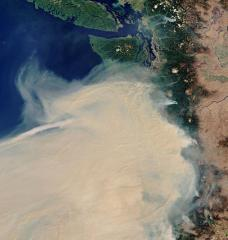 Stunning Satellite Imagery of West Coast Wildfires Shows Portland, Eureka, Eugene, San Francisco, and Sacramento Blanked by Smoke TOPICS:European Space Agency / Wildfires  By EUROPEAN SPACE AGENCY SEPTEMBER 12, 2020