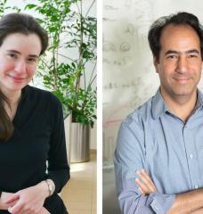 Myriam Heiman (left) and Alan Jasanoff have received grants to screen for genes that could help brain cells withstand Parkinson's disease and to map how gene expression changes in the brain in response to drugs of abuse.