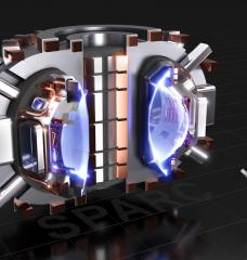 This image shows a cutaway rendering of SPARC, a compact, high-field, DT burning tokamak, currently under design by a team from the Massachusetts Institute of Technology and Commonwealth Fusion Systems. Its mission is to create and confine a plasma that produces net fusion energy. Credits:Image: CFS/MIT-PSFC — CAD Rendering by T. Henderson