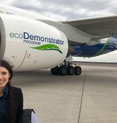 """I knew the science was sound, I knew the math was sound, but even when everything is going as planned and you are actually seeing it happening with your own eyes, it's still surreal,"" says Jacqueline Thomas PhD '20 on watching a Boeing 777 commercial airplane land using an approach she designed as an MIT grad student."